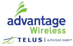 AdvantageWirelessTelusLogo